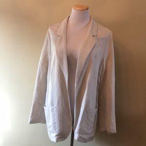 Old Navy linen/rayon blazer